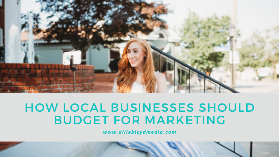 How Local Businesses Should Budget For Marketing